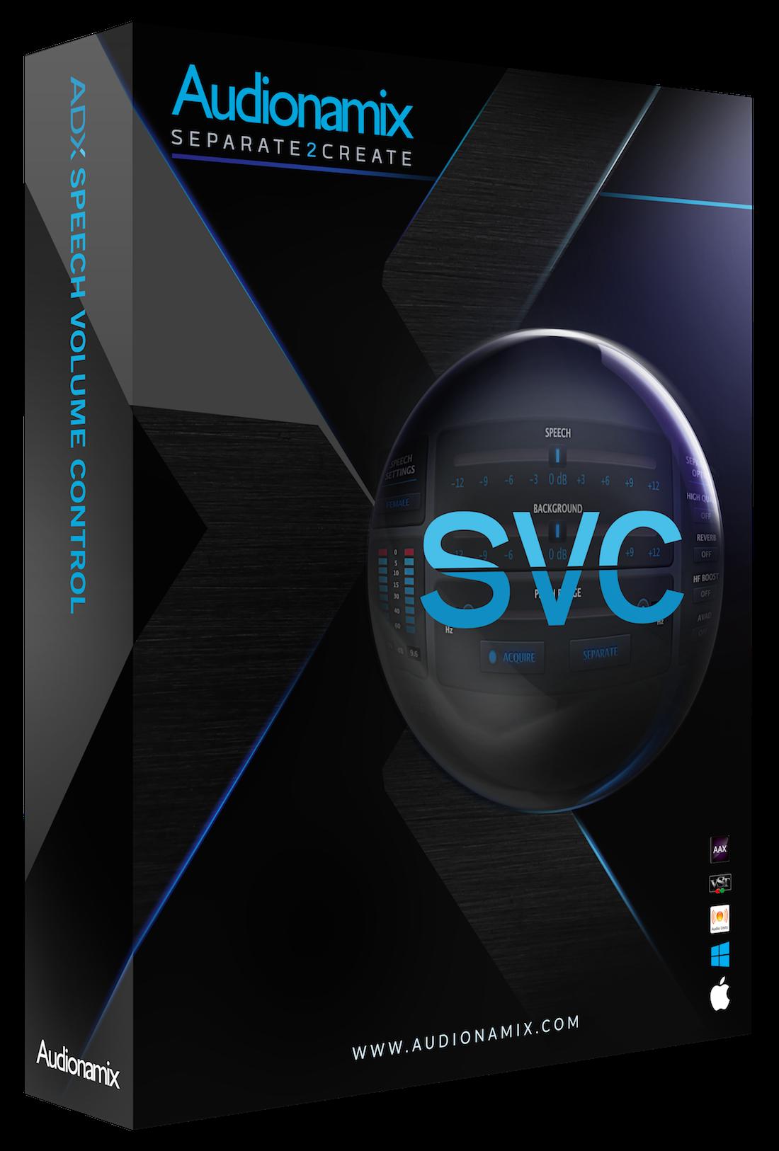 Audionamix SVC