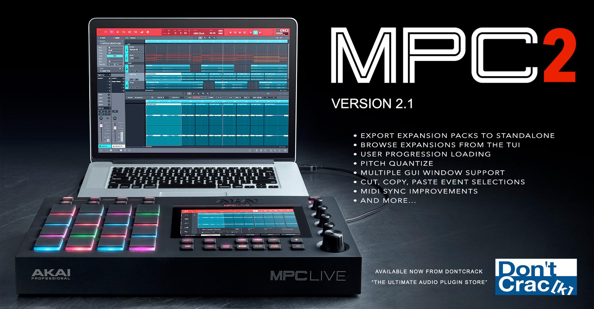 AKAI MPC 2.1 Software
