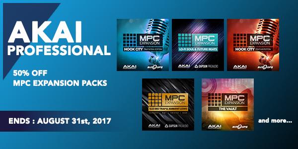 AKAI MPC Expansion Pack Promo