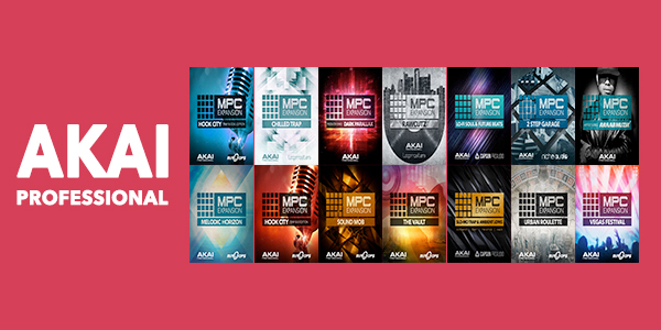 AKAI Professional MPC Expansions