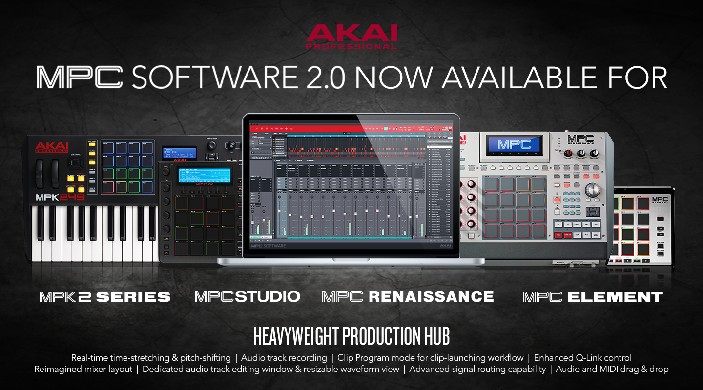 AKAI MPC Software 2.0