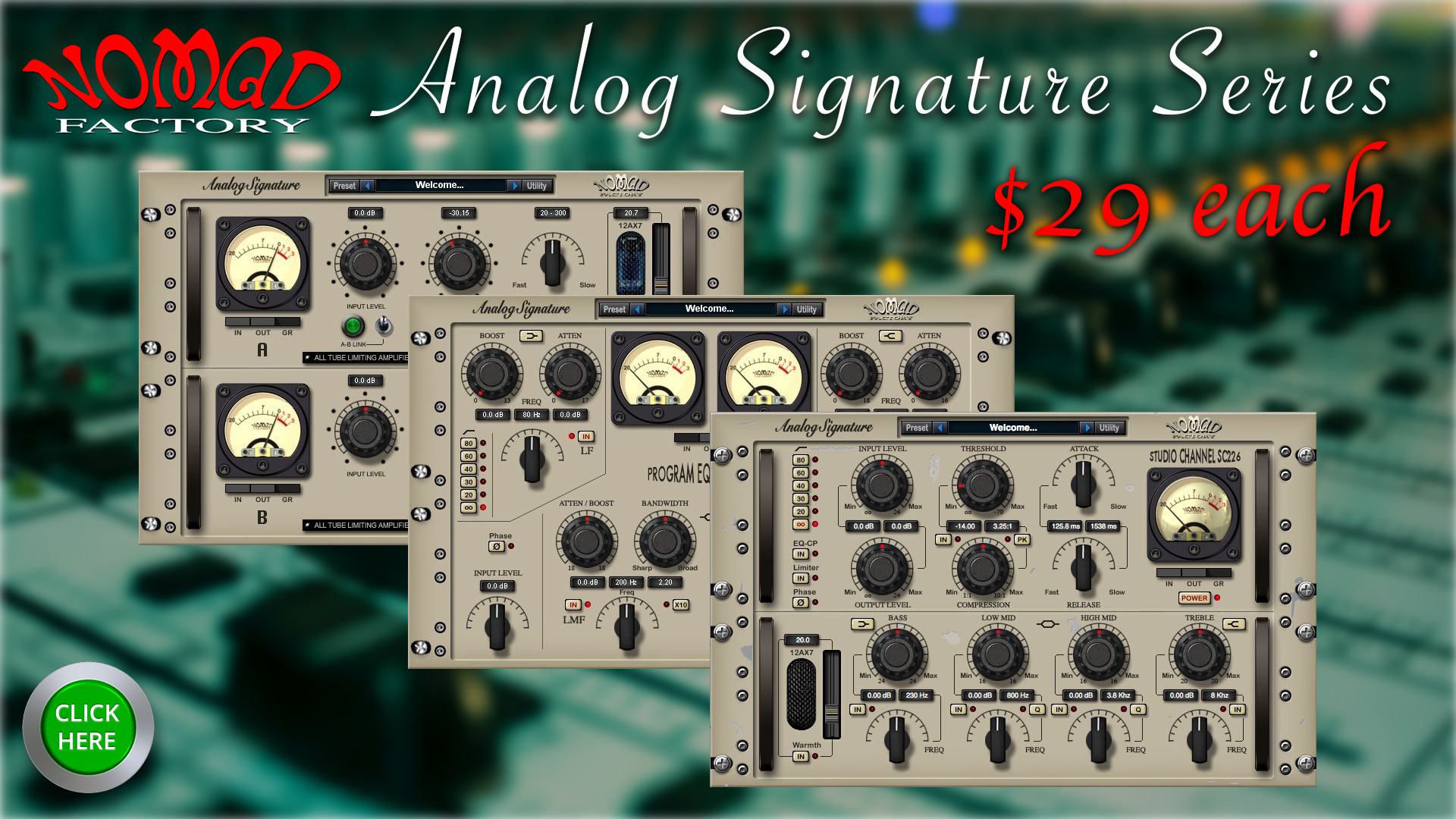 Analog Signature Pack