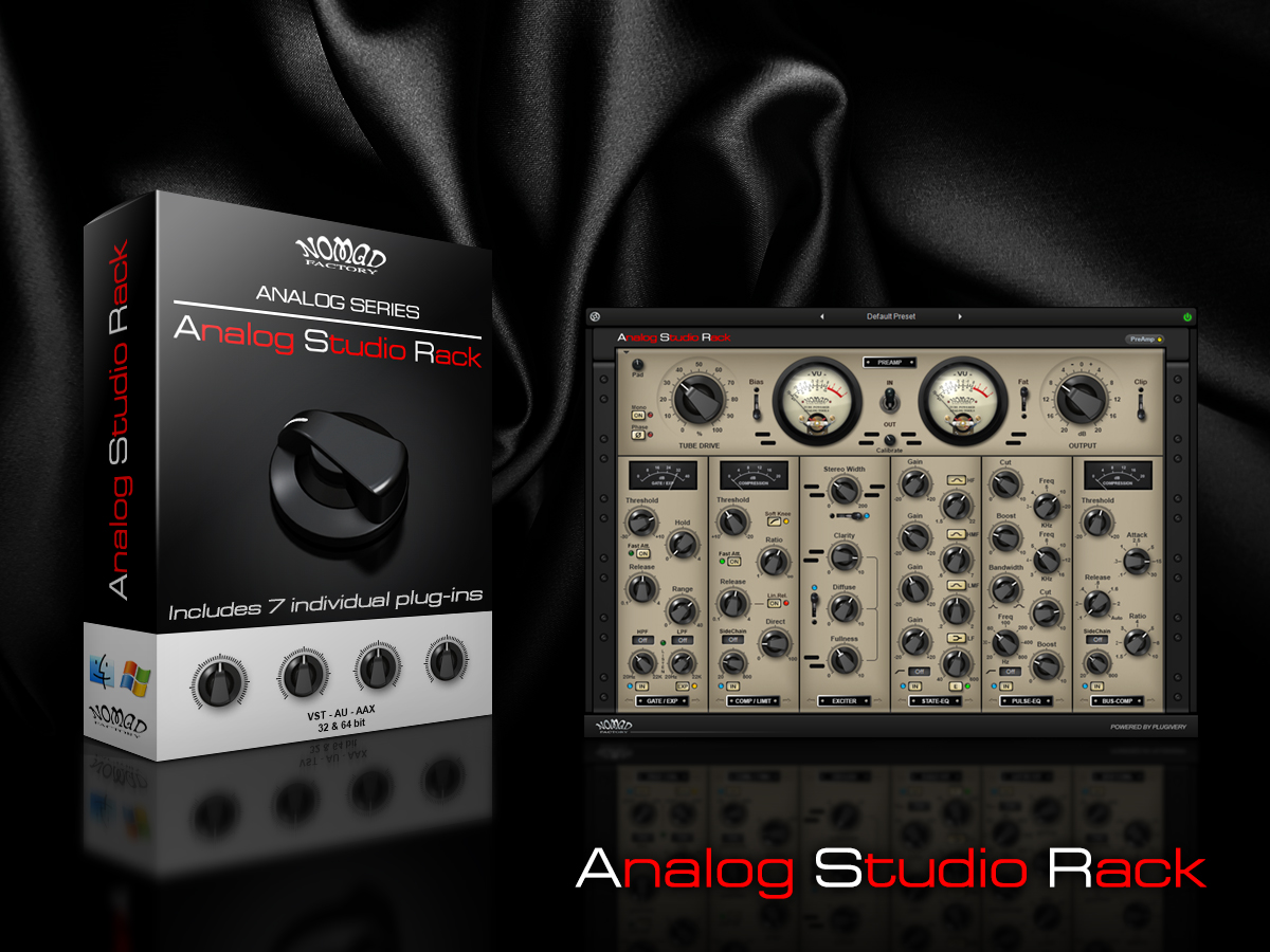 Analog Studio Rack Promo