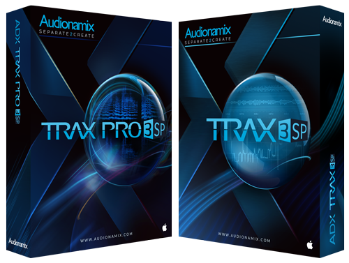 Audionamix Trax 3 SP and Pro Boxes