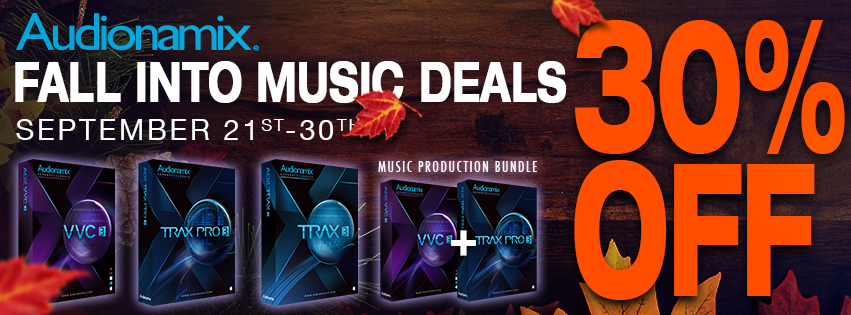 Audionamix Fall Sales