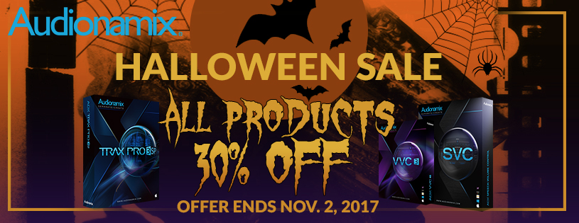 Audionamix Halloween Sales