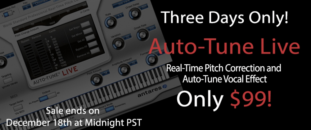 Auto-Tune Live Flash Sale