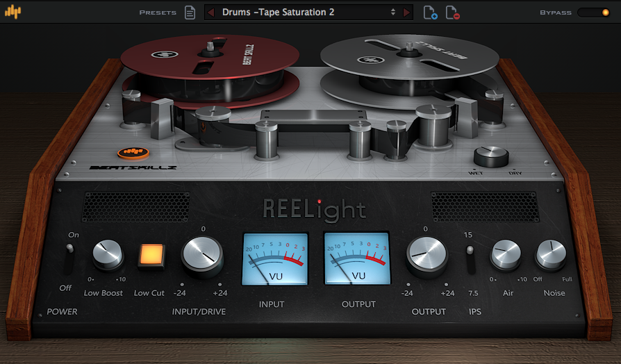 BeatSkillz REELight Tape Emulation Plugin