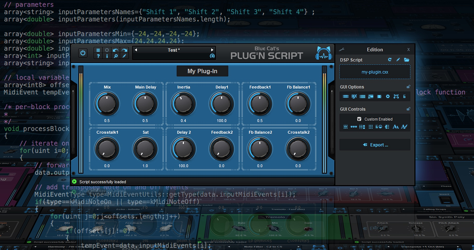 Blue Cat Audio Plug'n Script v3