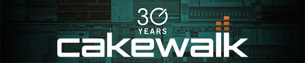 Cakewalk 30 Years