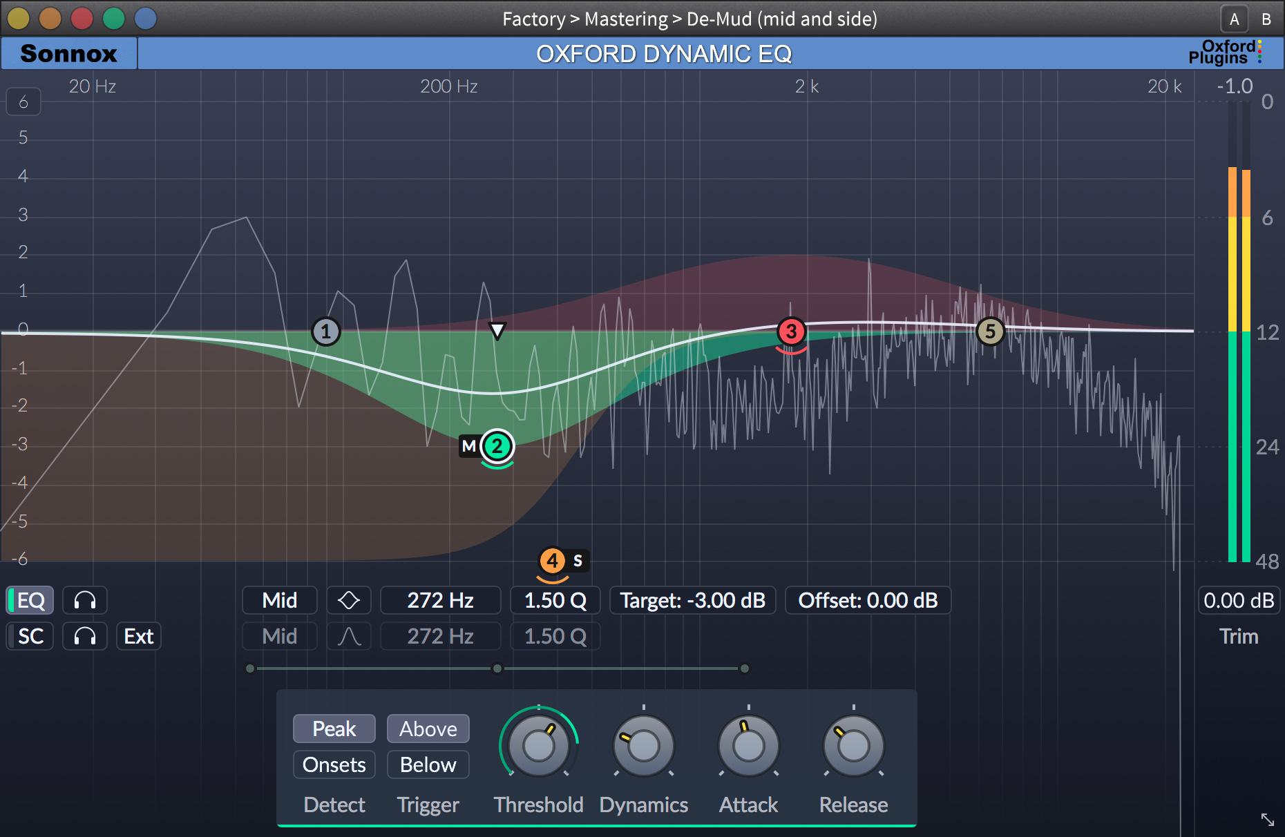 SONNOX release Oxford Dynamic EQ