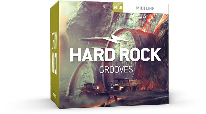 Hard Rock Grooves MIDI
