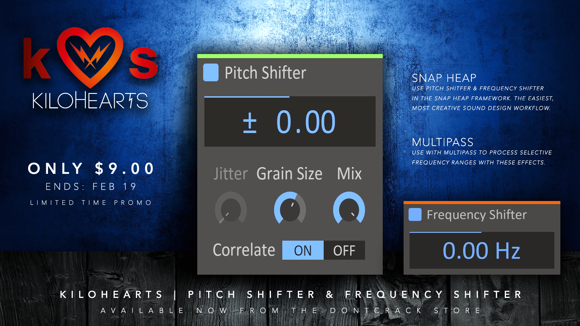 Kilohearts Frequency Shifter & Pitch Shifter Promo