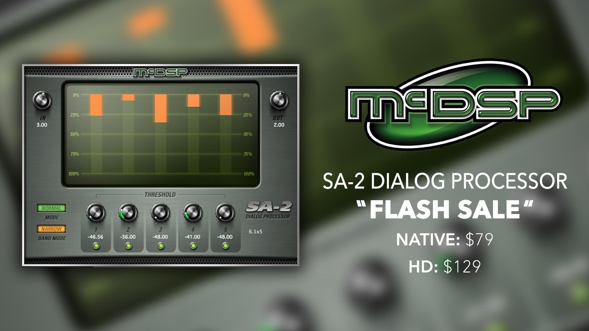McDSP SA-2 Dialog Processor Sale