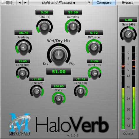 Metric Halo Haloverb
