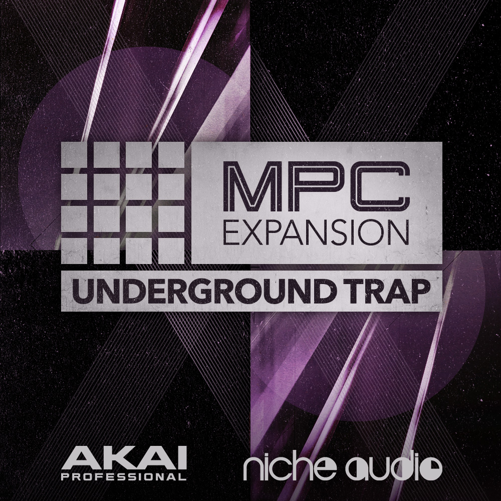 Akai Professional Underground Trap MPC Expansion Pack