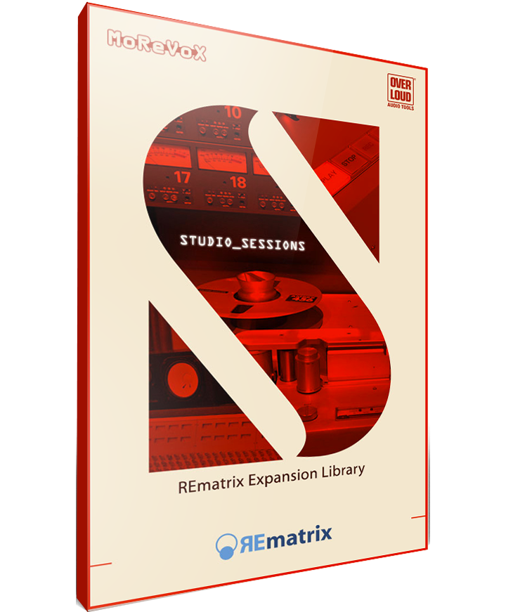 Overloud Studio Sessions REmatrix Library