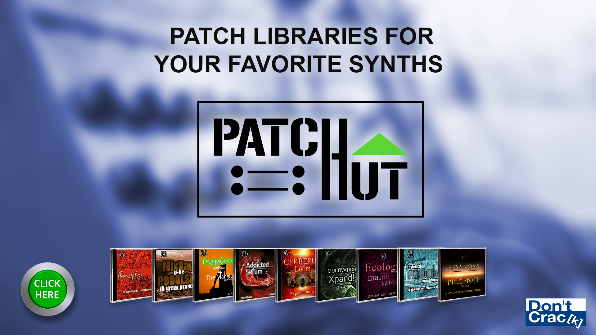 Patch Hut Sound & Preset Libraries