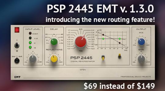 PSP Audioware 2445 EMT June Re-Intro Promo