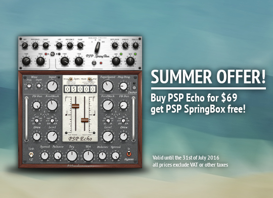 PSP Echo Summer Promo
