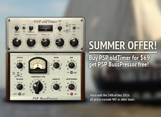 PSP OldTimer Summer Promo