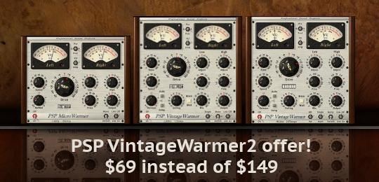 PSP Audioware VintageWarmer 2 Sale!