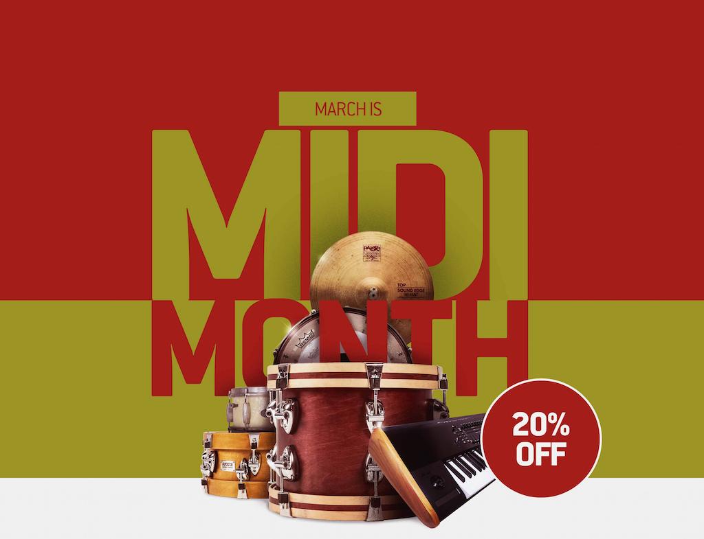 Toontrack MIDI Month