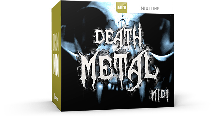 Toontrack Death Metal MIDI Pack