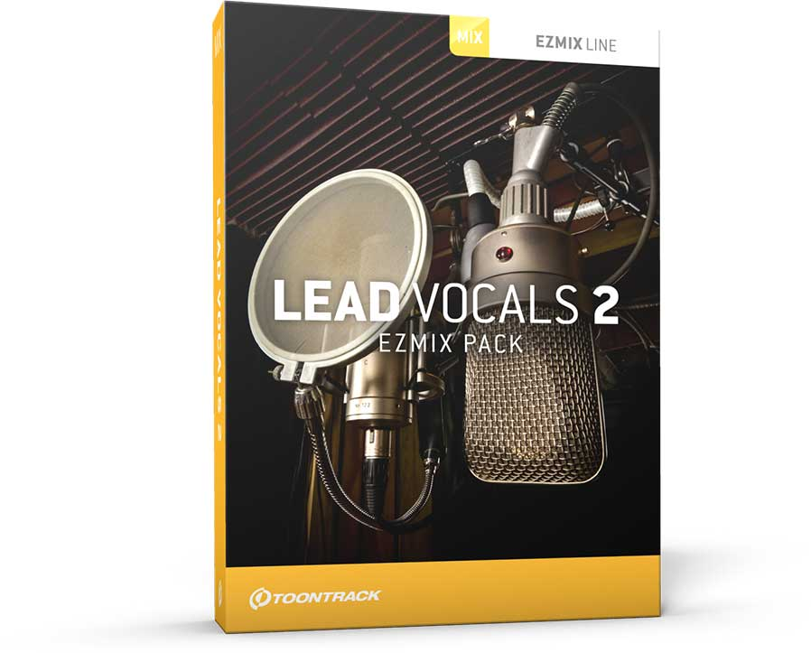 Toontrack Lead Vocals 2 for EZmix 2 Software