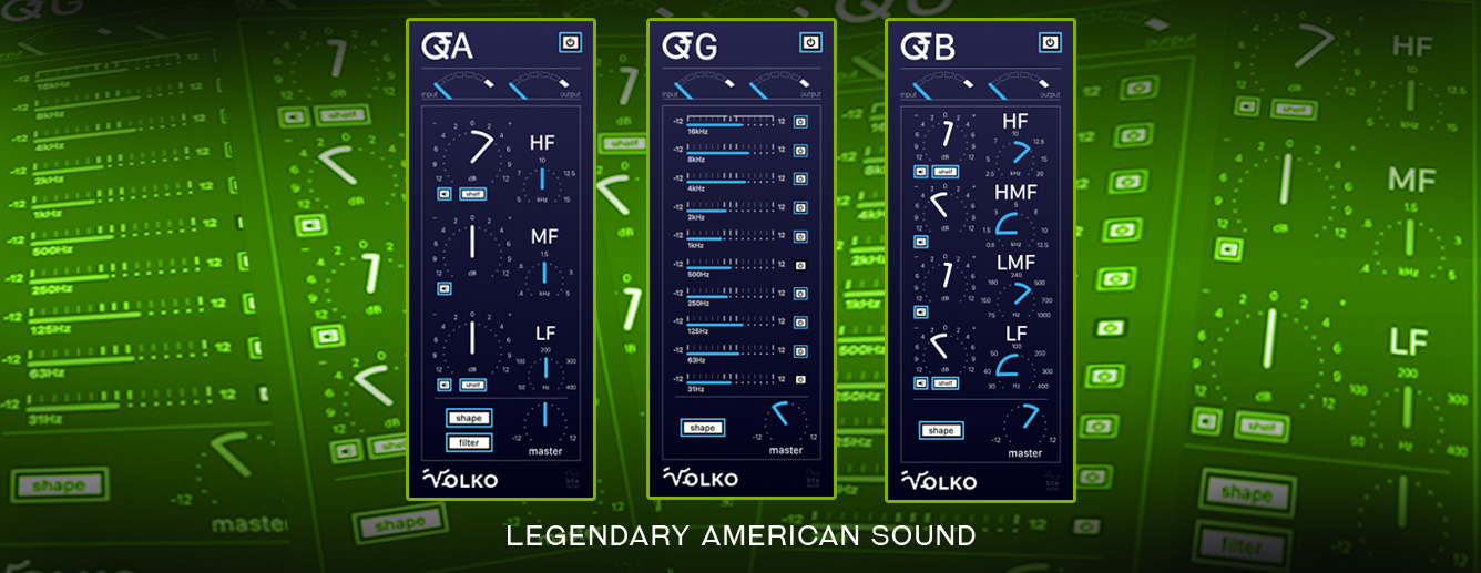 Volko Audio Q Series Plug-Ins
