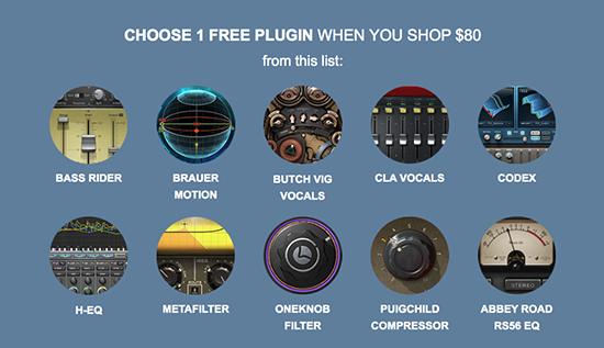 'ONE free plug-in'