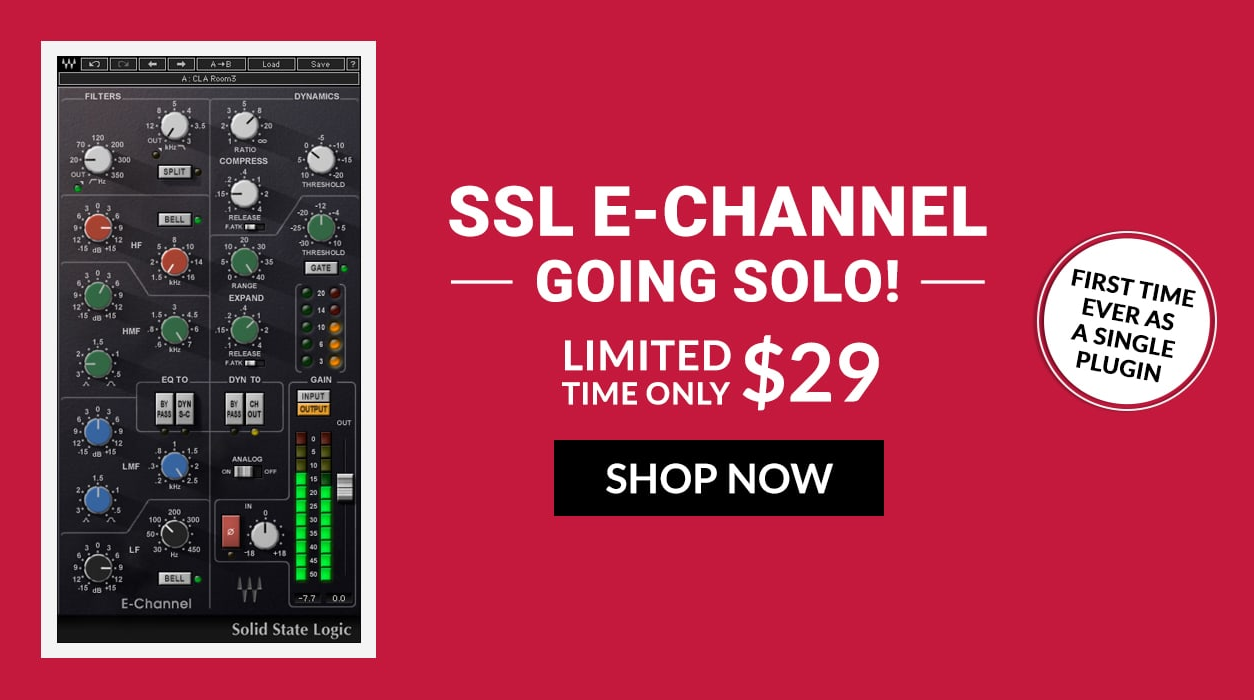 Waves SSL E-Channel Promo